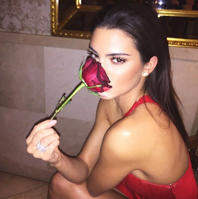 A rose by any other name . . . would smell as sweet and look as pretty as Kendall Jenner.