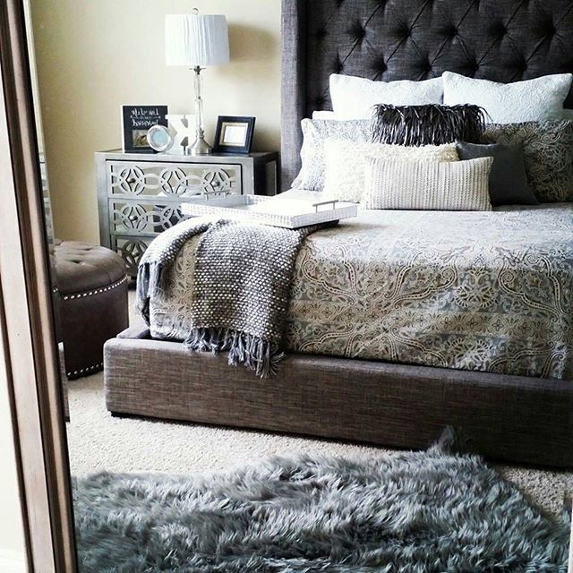78+ ideas about Grey Bedroom Furniture on Pinterest | Grey ...