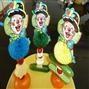 Tommies aan een rietje, #gezond trakteren.   Clownrietje met snoeptomaatje, kaas, mandarijntje of snoepkomkommertje. Gemaakt door www.tapasmargarita.nl