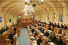 General view of the Czech Senate before a vote on the EU s Lisbon Treaty in Prag