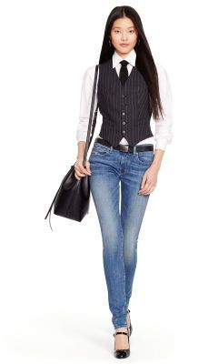 Tompkins Skinny Jean - Polo Ralph Lauren Skinny & Legging - RalphLauren.com
