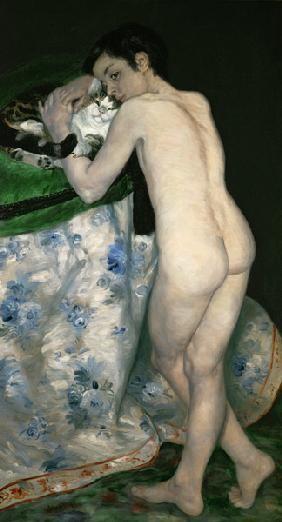 Pierre-Auguste Renoir - A Boy with a Cat