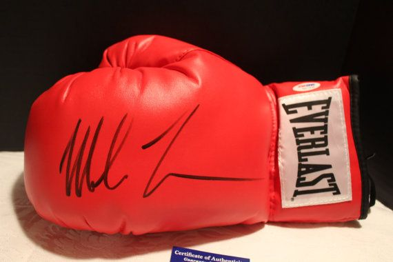 Mike Tyson Autographed Everlast Lace-up by OldSportsMemorabilia