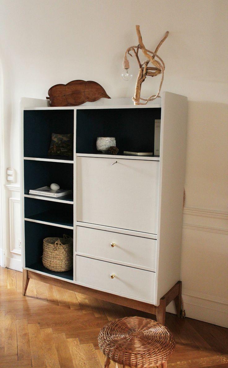 1000 id es sur le th me relooking de biblioth que sur pinterest biblioth ques bricolage de. Black Bedroom Furniture Sets. Home Design Ideas