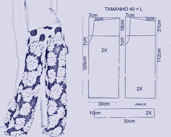 molde da calça pijama - Pesquisa Google