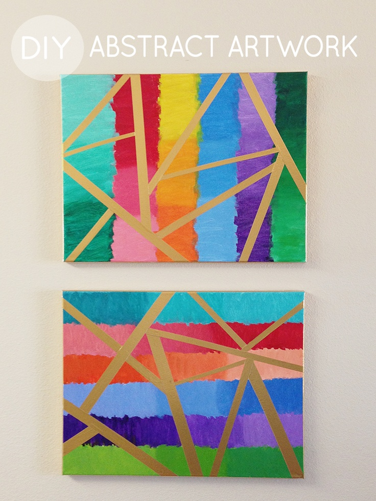 10 images about canvas art ideas on pinterest acrylics for Cute abstract art