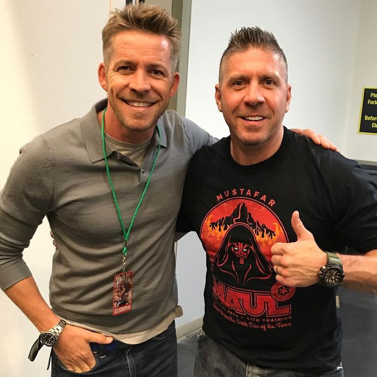 """15.3k Likes, 97 Comments - Sean Maguire (@iamseanmaguire) on Instagram: """"Just met the lovely Ray Park. Darth Mauls my son's new obsession so I'm not sure which of us is…"""""""