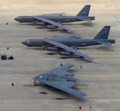 B-52 & B2 Bomber