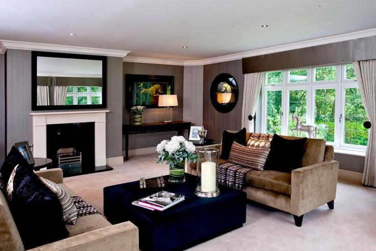 Living room #interior #design  - By Alexander James Interiors