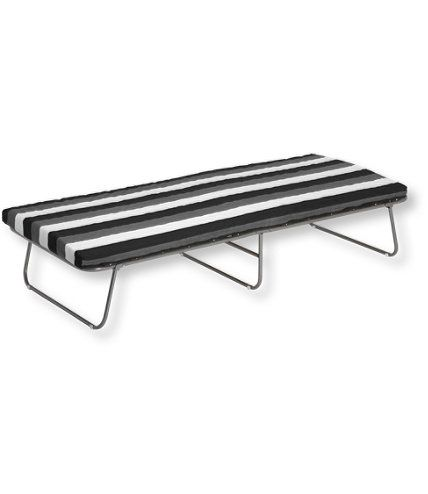 Deluxe Swedish Folding Cot: Aero Beds and Camp Cots | Free Shipping at L.L.Bean.......seems like it would be way better to sleep on than last years