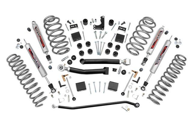 "1999-2004 Jeep WJ Grand Cherokee 4"" X-Series Lift Kit 639P #RoughCountry"