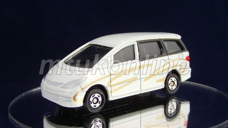 TOMICA 99 TOYOTA ESTIMA PREVIA | 1/65 | DISTRIBUTED TO OWNERS 2001
