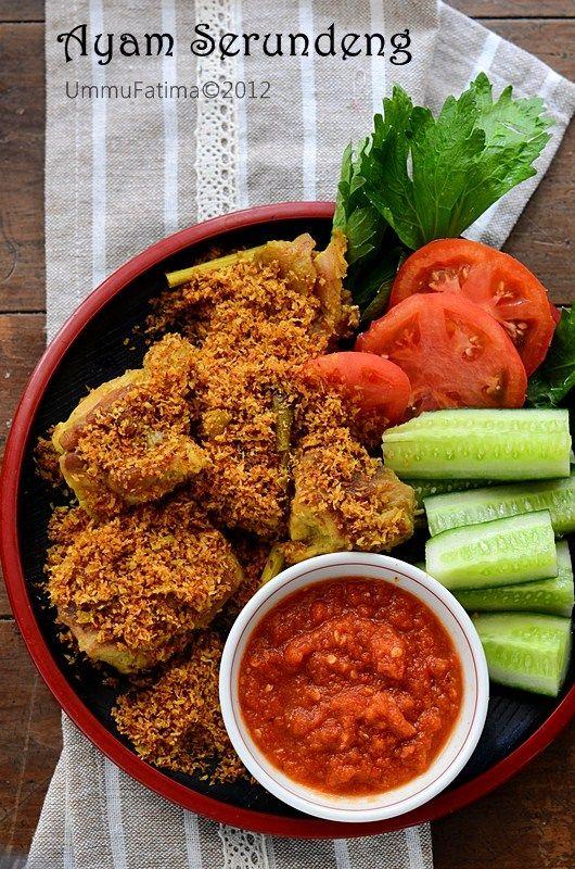 Simply Cooking and Baking...: Ayam Goreng Serundeng