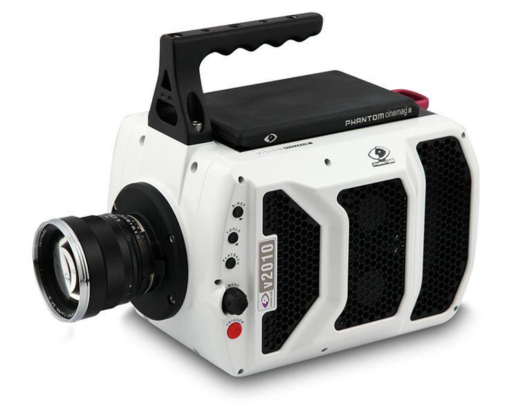 Caméra Phantom v2010 : 22 000 vues par seconde !