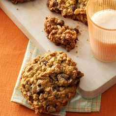 wyoming recipes | Wyoming Whopper Cookies Recipe photo by Taste of Home