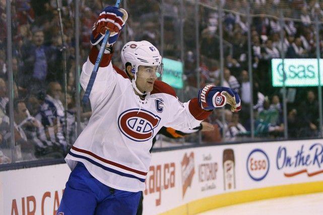 Pacioretty a réussi deux buts, et le Canadien a facilement disposé des Maple Leafs par la marque de 3-1 au Centre Air Canada - le 7 octobre 2015 - PHOTO USA TODAY SPORTS - via La Presse