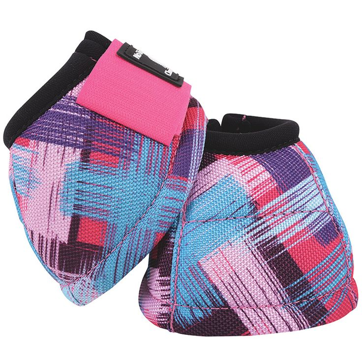 Classic Equine Dyno Designer Bell Boot Pink Sweep