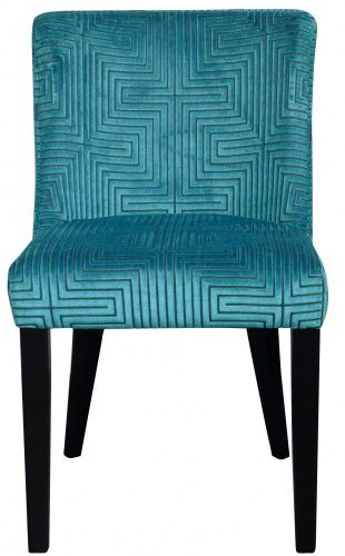 We love one of our recent customer orders. They chose the Milano Petite Dining Chair with the gorgeous Concept fabric from Harlequin's Momentum Collection. Finished with stunning black legs this chair would look fabulous in any dining room. Shop now: http://ow.ly/xi44X