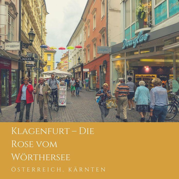 Klagenfurt este un oraș nu prea mare din sudul Austriei. Din Viena pînă aici se ajunge cu mașina în aproximativ 3 ore.
