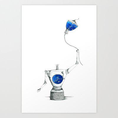Mindless+Art+Print+by+Daggy+Jess+-+$15.00