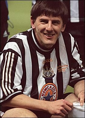 Peter Beardsley. Looks like someone kicked the photocopier while he was being printed.