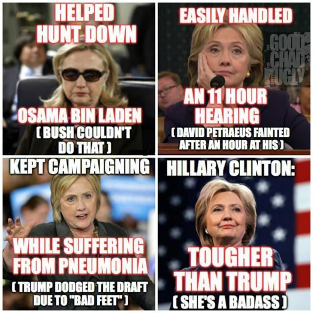 Popular Vote Winner, The People's President, Hillary Clinton & the WOMANS MARTYR. The most qualified taken down by an unqualified man. We have all been there