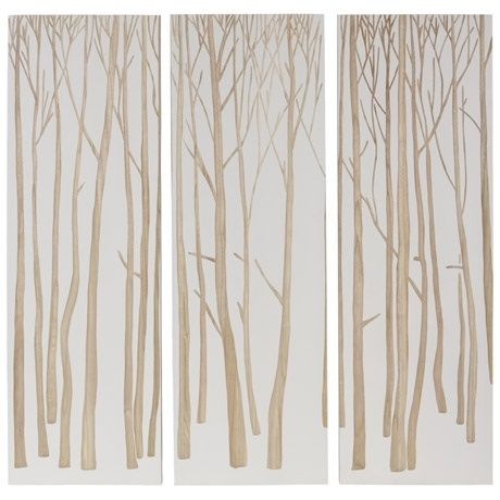 Forest Wall Art Set of 3  NOW $439 FREEDOM