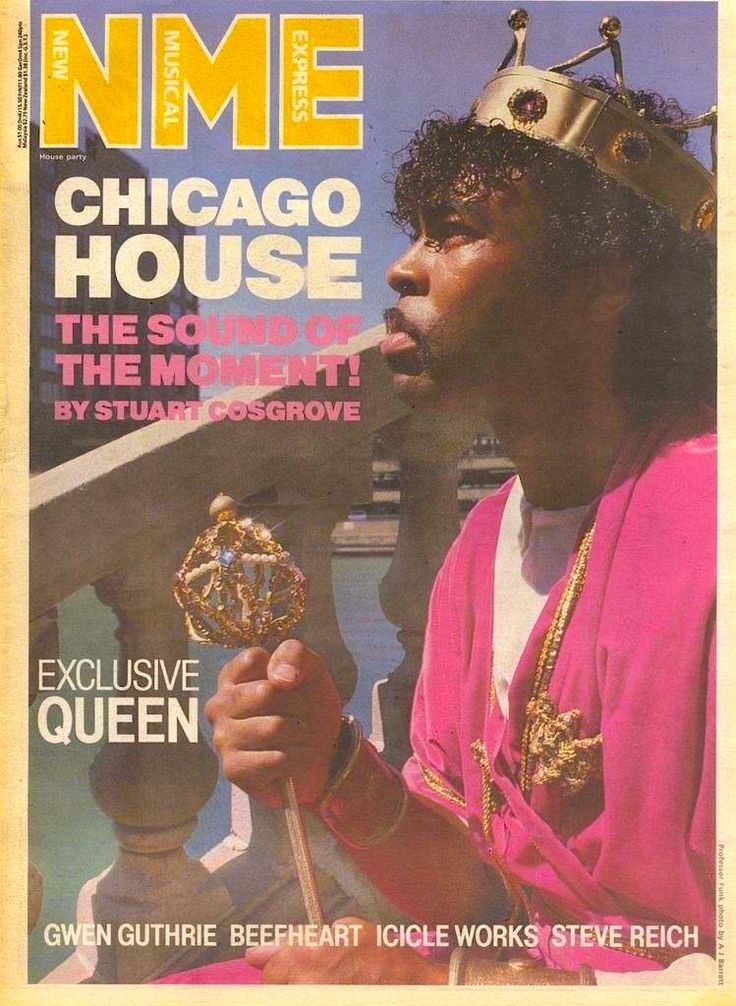 Professor funk nme cover 1987 chicago house special for House music 1987