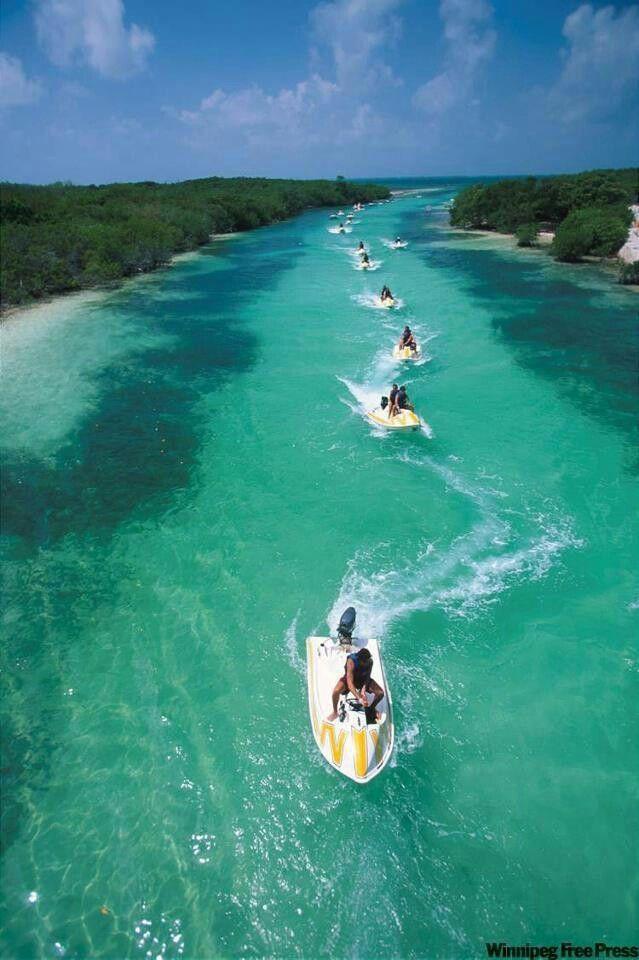 La Reserva de Sian Ka'an. In Tulum, Quintana Roo Mexico