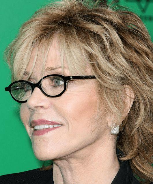Frauen brillen ab 60 für Pixie Cut