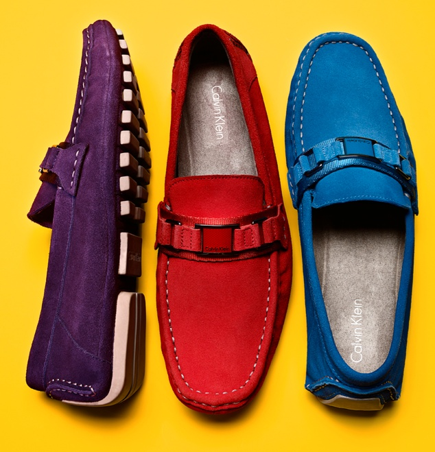 Go Bright:  Loaf Around CALVIN KLEIN #shoes #mens BUY NOW!