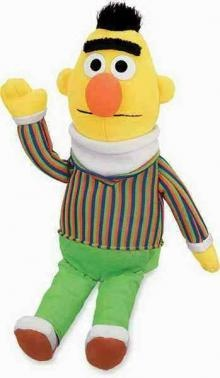 Gund's Bert from Sesame St.