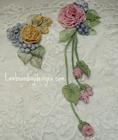roses and berries | blogged here lambsandivydesigns.blogspot… | lambsandivydesigns.com | Flickr