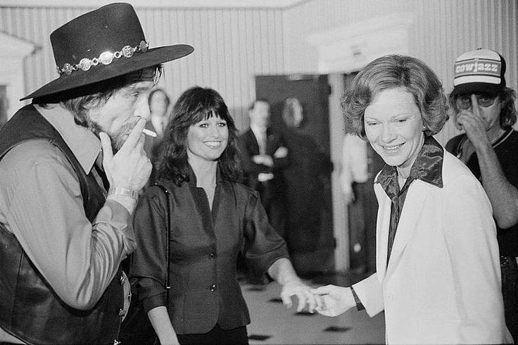 Waylon Jennings & Jessi Colter (wife)
