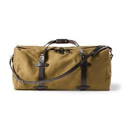 Large Duffle in Tan
