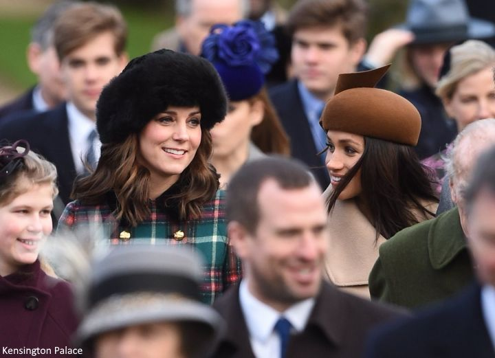 The Duke and Duchess of Cambridge joined the Royal family for the annual Christmas Day service at St Mary Magdalene Church this morning. ...
