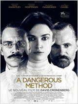 Réalisé par : David Cronenberg   Un film à l'abord pas forcément évident, qui revisite une période cruciale de l'histoire de la psychanalyse. Une Keira Knightley méconnaissable et époustouflante !