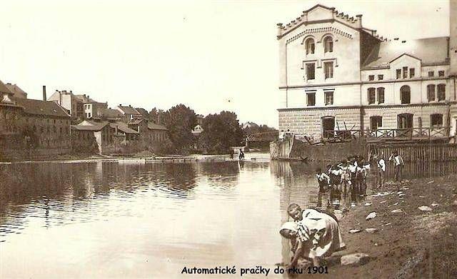Automatické pračky rok 1899