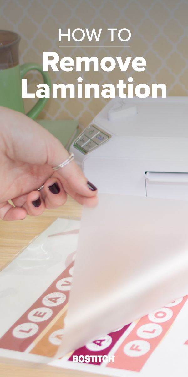 How To Remove Lamination From Paper How To Remove Paper Blog Office Organization