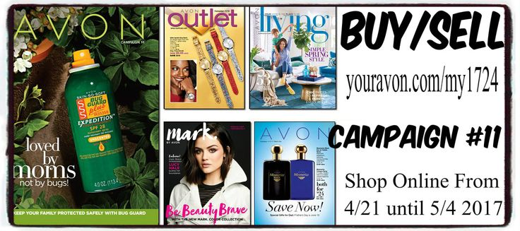Avon Campaign 11 is now Available To View and Shop Online from April 21 until May 4, 2017. In this issue it's all about Avon Bug Guard!! Don't miss this catalog: sales starts now. Shop Avon current catalog online at www.youravon.com/my1724 #AVON #AVONCATALOG #AVONBROCHURE #AVONCATALOGONLINE #AVONSALE #AVONREP #SHOPONLINE #SHOPAVONONLINE #SKINCARE #SKINCAREBLOG #WRINKLES #ULTIMATE #MARKBYAVON #GIFTS #AVONOUTLET