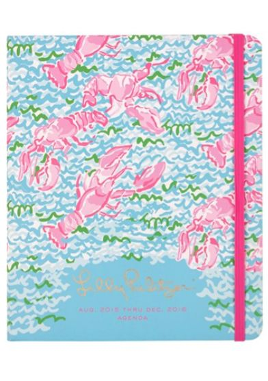 pretty Lily Pulitzer lobster agenda