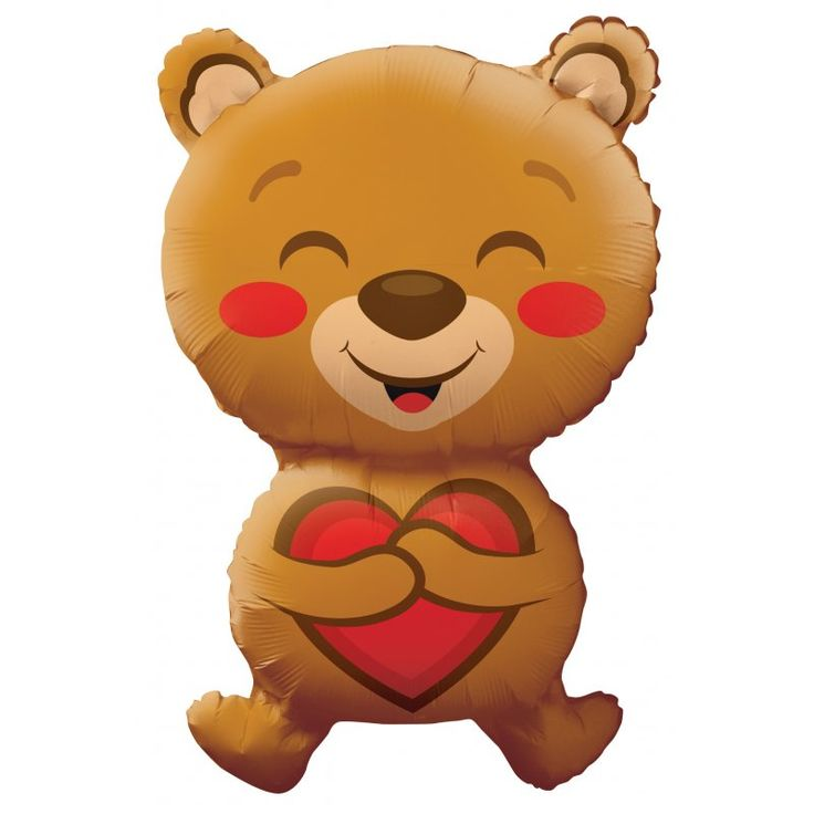 Visit balloons.online to find the perfect balloons for your valentine!  Look how happy this bear is that we asked to be our valentine.  Come on and hurry.  Time is running out!