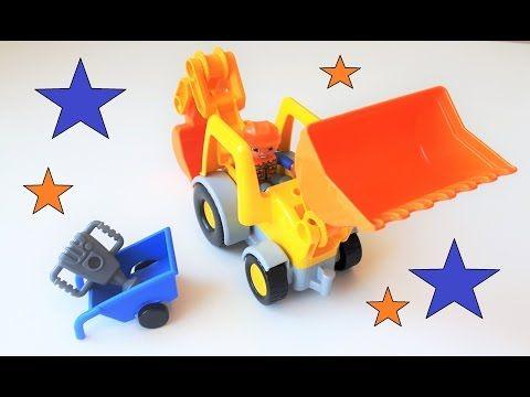 Lego Duplo front loader video for kids
