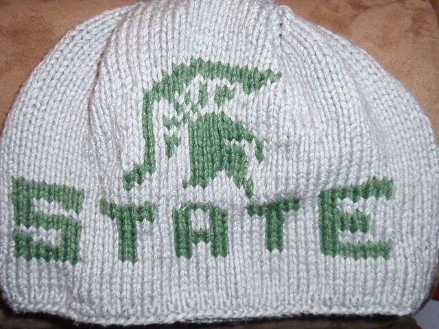 Ravelry: MICHIGAN SPORTS HATS pattern by Debbie Lasiewski