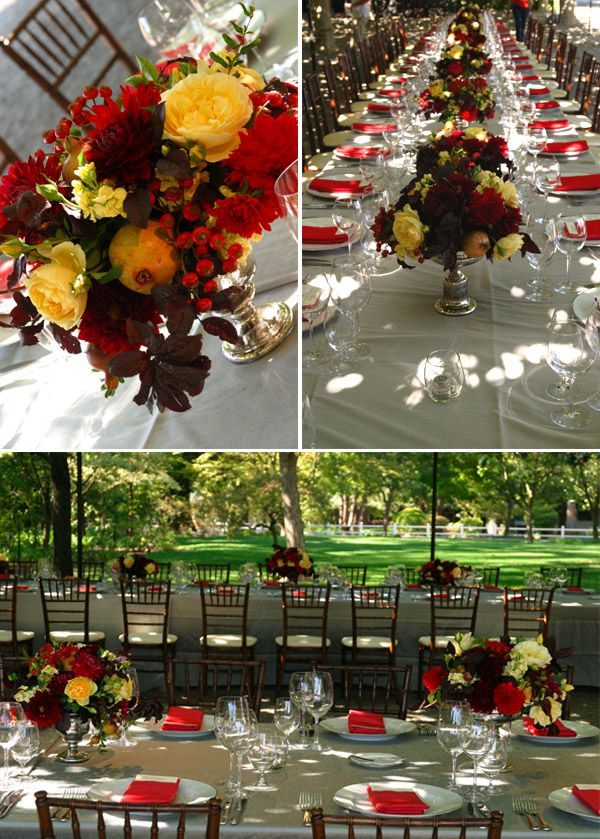 37 best Red & Yellow Wedding Ideas images on Pinterest | Casamento ...