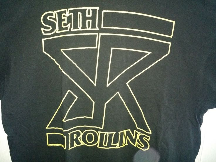 WWE Seth Rollins SR T-Shirt 2XL XXL The Shield Tyler Black ROH NXT - https://bestsellerlist.co.uk/wwe-seth-rollins-sr-t-shirt-2xl-xxl-the-shield-tyler-black-roh-nxt/