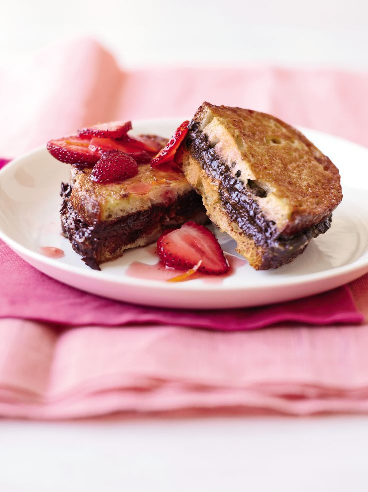 Could there be anything better than chocolate for breakfast? Look to this dish when you want a decadent start to your weekend. Neufchatel cheese contains one-third less fat than regular cream cheese, making it a great alternative in most recipes.