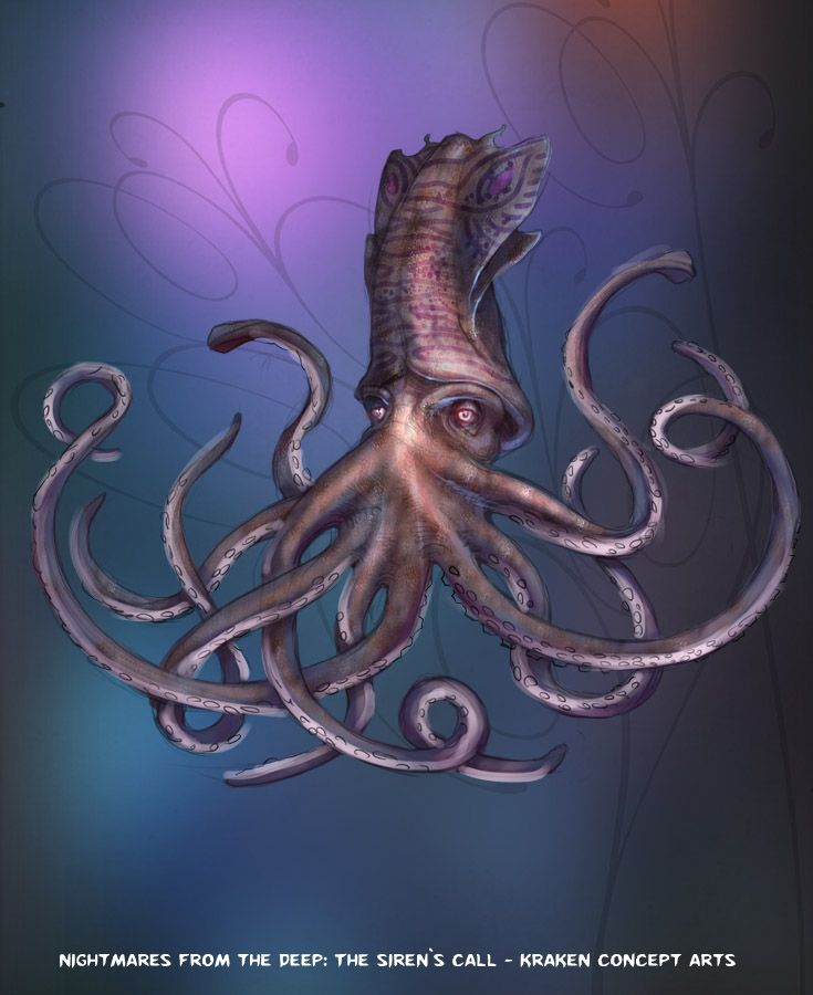 The Kraken likes people. A lot! #nightmares #kraken #artifexmundi  www.facebook.com/NightmaresFromTheDeep    http://www.artifexmundi.com/page/piraci2