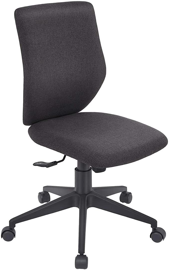 Bowthy Armless Office Chair Ergonomic, Armless Office Chair
