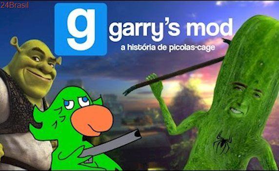 A INCRÍVEL HISTÓRIA DE PICOLAS CAGE!! - GMOD Stories (Garry's Mod)